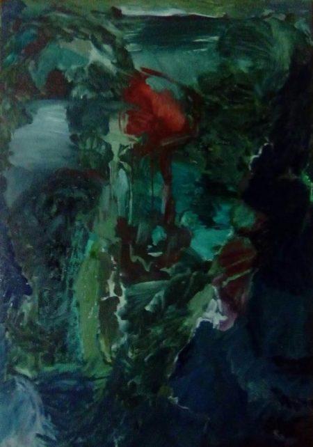 Pintura y Naturaleza - Mixta sobre lienzo - 116x81cm