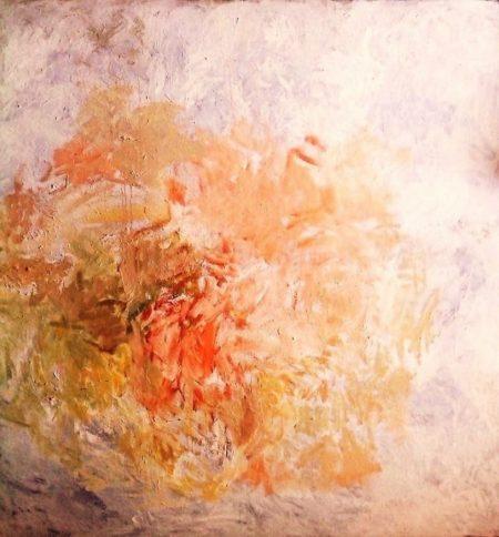 Geeenesis Algo se estaaa formando - 2014 · 15 - OOOleo sobre lienzo - 195x195cm
