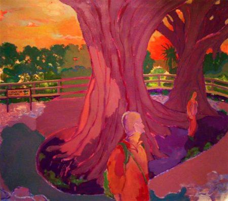 Comuniooon natural - Mixta sobre lienzo - 81x92cm