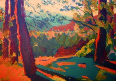 Paisaje - Mixta sobre lienzo - 89x116cm
