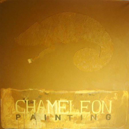 CuadroDO ·· Chameleon painting - Óleo sobre lienzo - 195x195cm