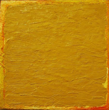 CuadroDO ·· Oro - Óleo sobre lienzo - 27x27cm