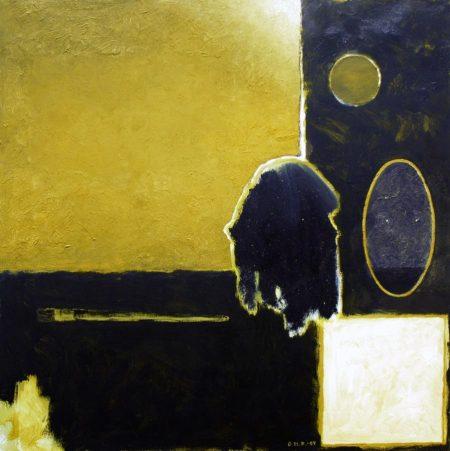 CuadroDo ·· Contemplación - Óleo sobre lienzo - 65x65cm