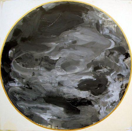 Peephole ·· Pintura - Acrílico sobre lienzo - 146x146cm