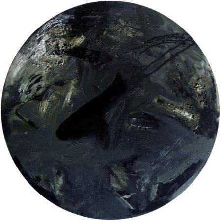 Primitivo en el ciiirculo - OOOleo sobre lienzo - d60cm