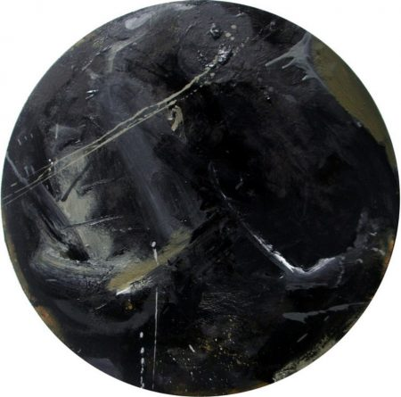 Pintura cooosmica - OOOleo sobre lienzo - d50cm