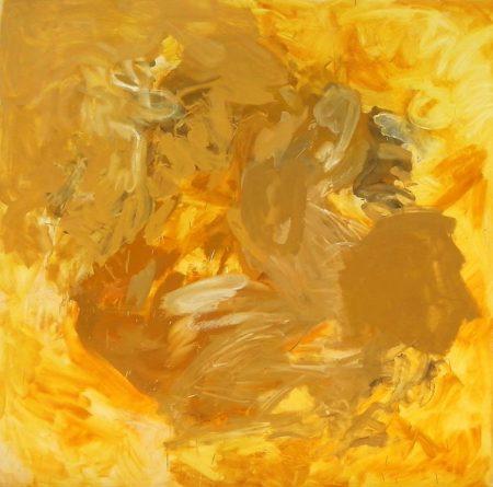 CuadroDO · Naturaleza Oro - Acriiilico sobre lienzo - 195x195cm