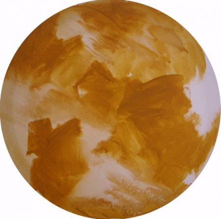 Circle · Oro Pintura cooosmica - Acriiilico sobre lienzo - d60cm
