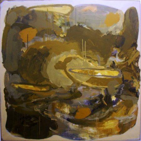 CuadroDO · Paisaje cooosmico - Acriiilico sobre lienzo - 146x146cm