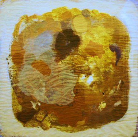 CuadroDO · Pintura cooosmica - Ariiilico sobre papel - 41x41cm
