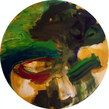 Circle. El hombre aaarbol - OOOleo sobre lienzo - d60cm
