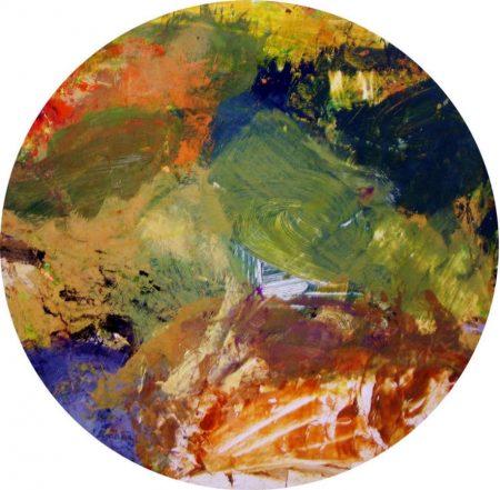 Circle. Pintura - OOOleo sobre lienzo - d60cm