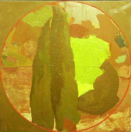 Peephole · First Circle - OOOleo sobre lienzo - 65x65cm