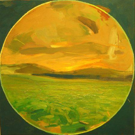 Peephole · Un lugar de mi memoria - OOOleo sobre lienzo - 65x65cm