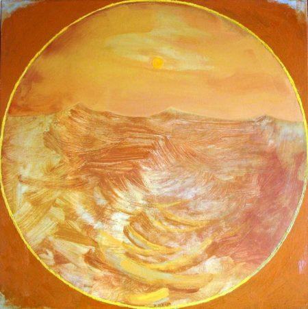 Peephole · Mar y Luz - OOOleo sobre lienzo - 65x65cm