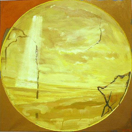 Peephole · Construciooon natural - OOOleo sobre lienzo - 65x65cm