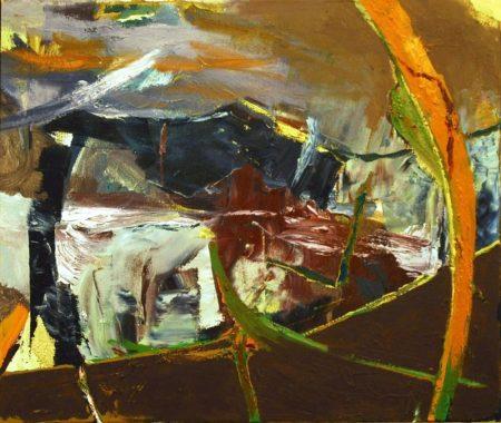 Paisaje cooosmico - OOOleo sobre lienzo - 54x65cm