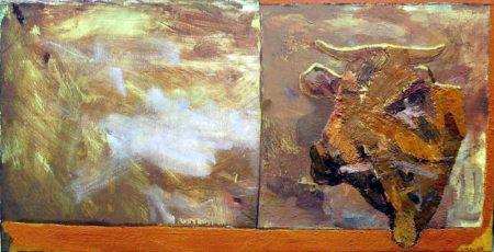 Paisaje · Creatura - OOOleo sobre lienzo - 46x89cm