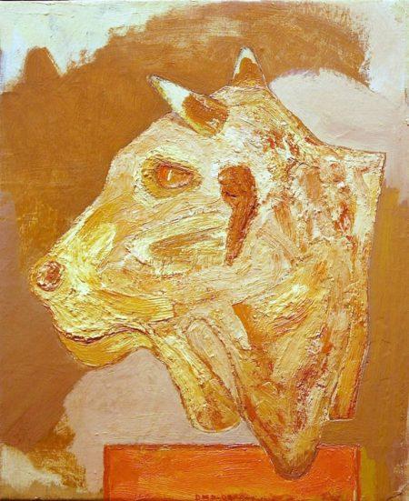 Creatura 1 - OOOleo sobre lienzo - 46x33cm