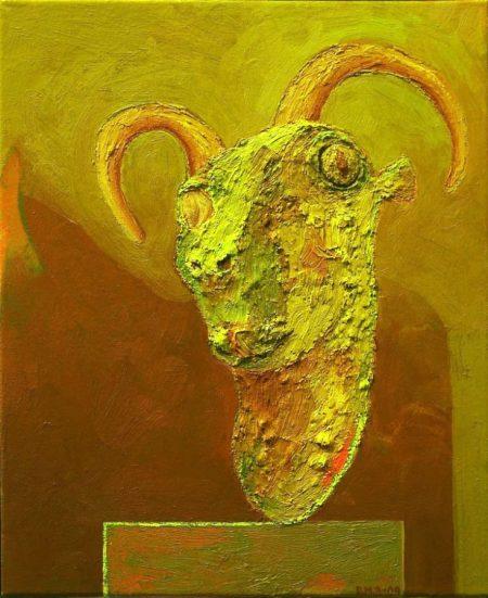 Creatura 4 - OOOleo sobre lienzo - 46x33cm