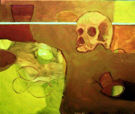 Muerte con limones - OOOleo sobre lienzo - 55x65cm