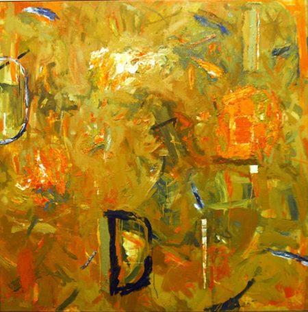 CuadroDo · Pintar - OOOleo sobre lienzo - 146x146cm