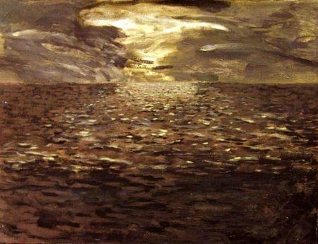 Mar y noche - OOOleo sobre lienzo - 50x65cm