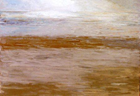 Mar y luz-Dorado - OOOleo sobre lienzo - 116x81cm