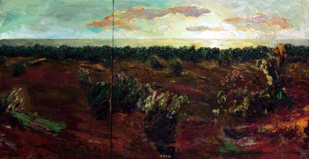 Horizonte - OOOleo sobre lienzo - 41x73cm