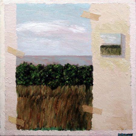 CuadroDo-Puerta y CuadroDo - OOOleo sobre lienzo - 41x41cm