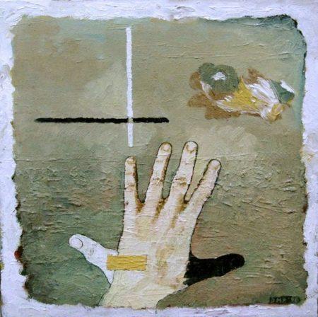 CuadroDo Cosas de pintores - OOOleo sobre lienzo - 41x41cm