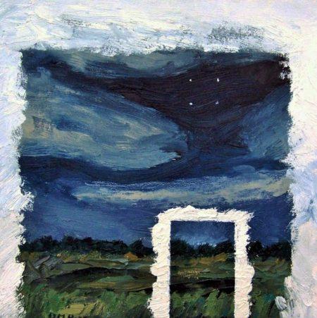 CuadroDo-Puerta - OOOleo sobre lienzo - 27x27cm