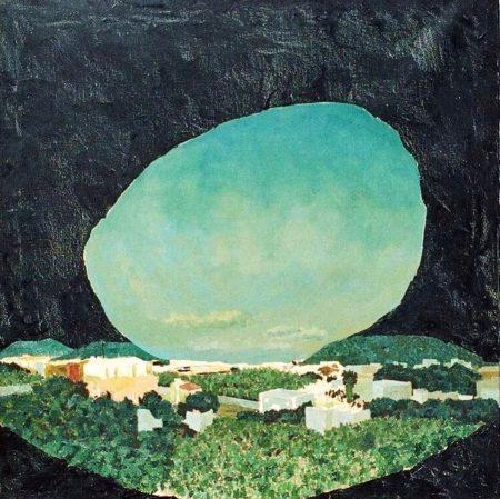 CuadroDo Paisaje Esfera AAArbol - OOOleo sobre lienzo - 65x65cm