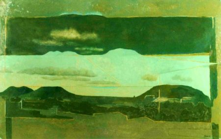 Arquitectura del paisaje - OOOleo sobre lienzo - 73x100cm