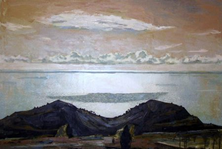 Arquitectura del paisaje - OOOleo sobre lienzo - 89x116cm