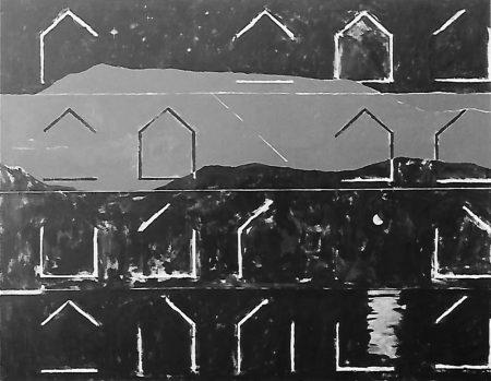 Variaciones en el paisaje - Acriiilico sobre lienzo - 114x146cm