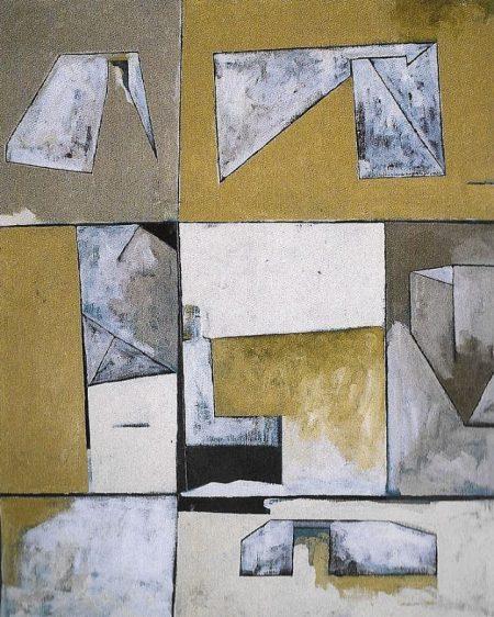 Espaciario - Acriiilico sobre lienzo - 100x81cm