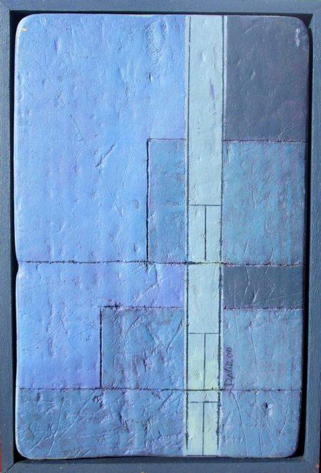 Niveles - Acriiilico sobre madera - 22x16cm