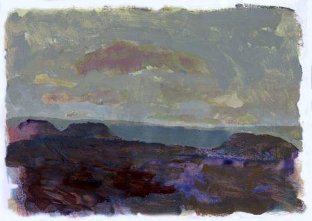 Montannnas · Mar · Nubes