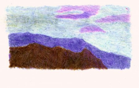 Montannnas y nubes 3