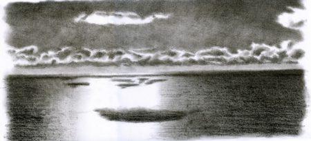 Mar y nubes 1