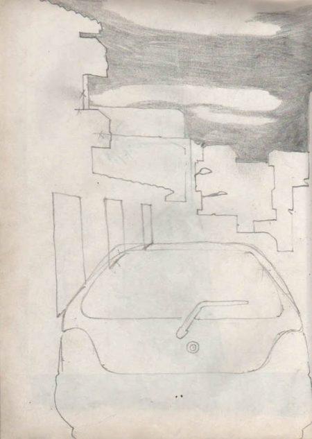 Paisaje con coche 2