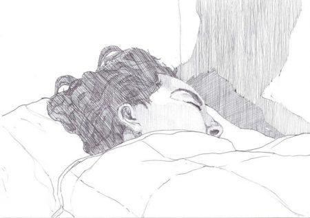 Ella duerme