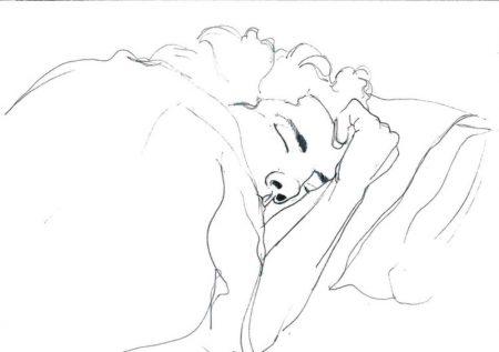Ella duerme 1