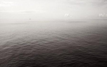 Mar y nubes