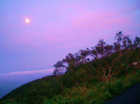 Ladera y luna