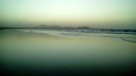 Reflejos en la playa 1