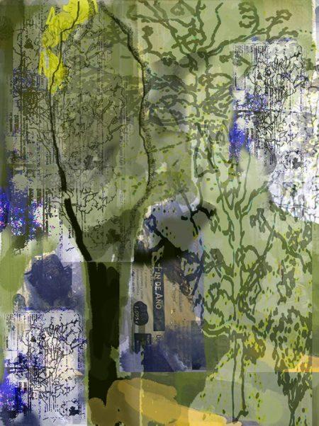 Paisaje cooosmico 3 - Impresiooon digital - 27x20cm