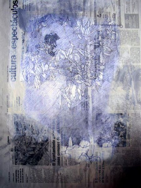 Paisaje cooosmico 4 - Impresiooon digital - 27x20cm